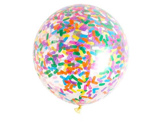 Ice Cream Sprinkles GiantConfetti Balloon