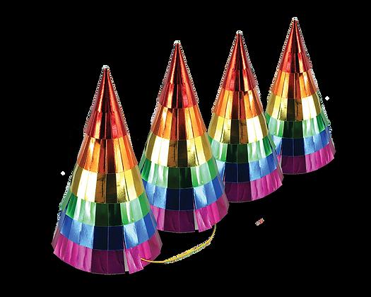 Rainbow Party Hats