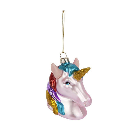 Festive Ornament- Unicorn