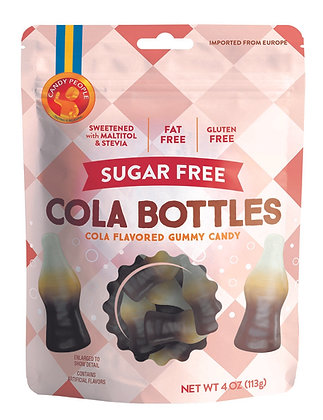 Sugar Free Cola Bottles