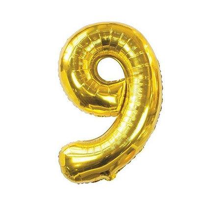 Number Balloon- 9