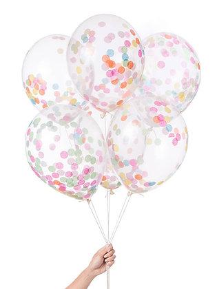 Pre-Filled Confetti Balloons