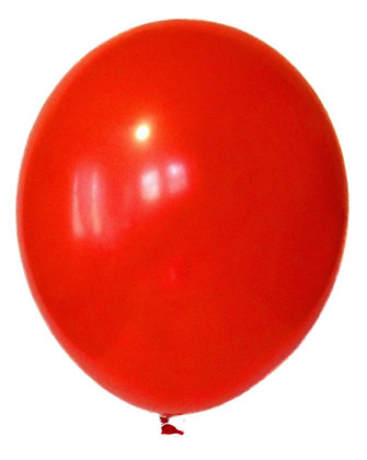 Jumbo Latex Balloon- Red