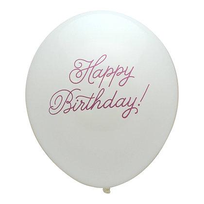 Happy Birthday Latex - 3pc