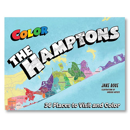 Color The Hamptons Coloring Book