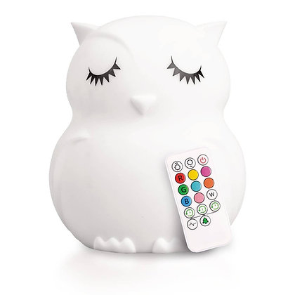 Lumipets® LED Owl Night Light with Remote