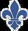 Petit Blue Logo_fleur de lis