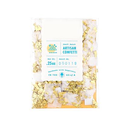 Golden Artisan Confetti