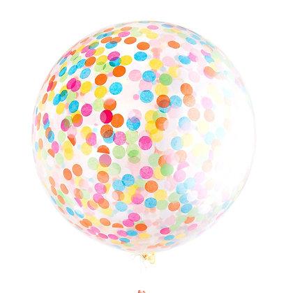 Assorted Giant Confetti Balloon
