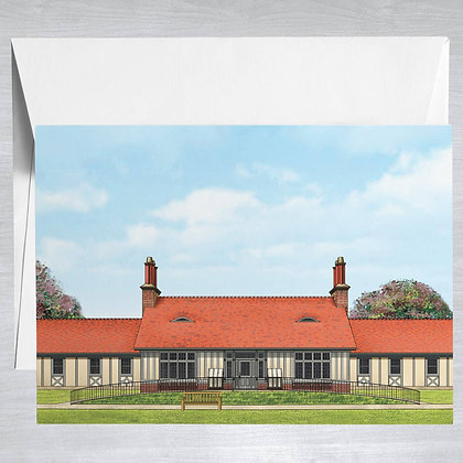 East Hampton Library - Hamptons - Card