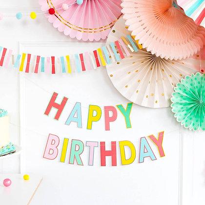 """Happy Birthday"" Banner"