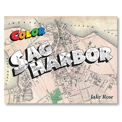 Color Sag Harbor Coloring Book