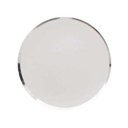 7in Plates - Silver Set