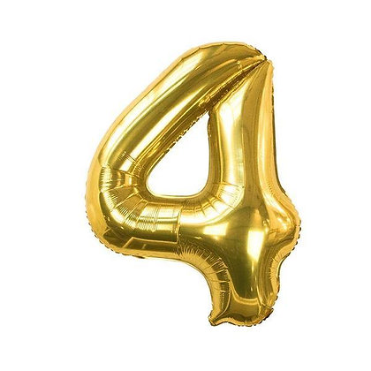 Number Balloon- 4