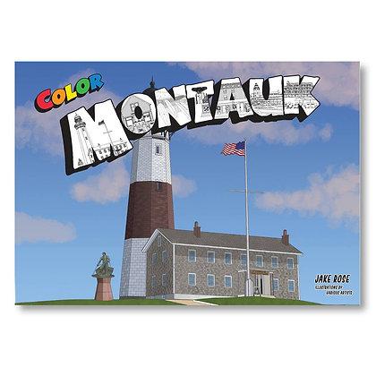 Color Montauk Coloring Book