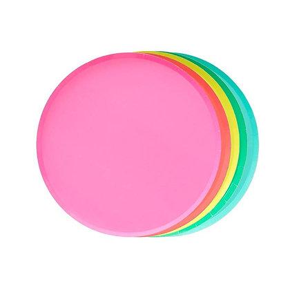 7in Plates - Rainbow Set