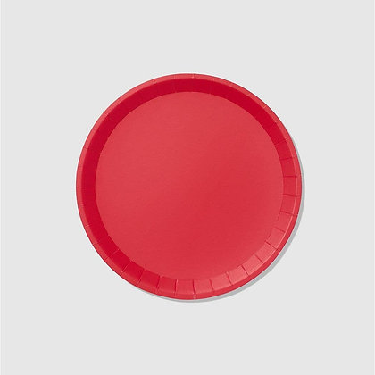 Red Classic Large Plates