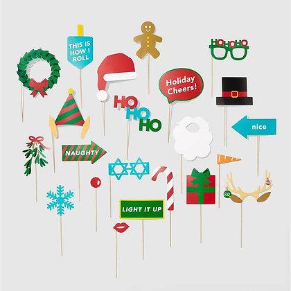 Jolly Holiday Photo Prop