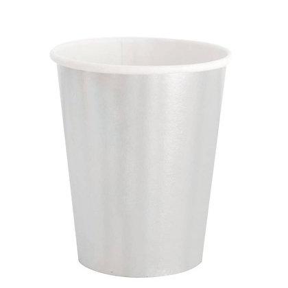 8oz cup- Silver