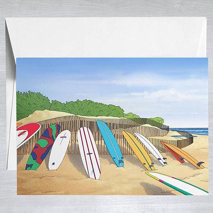 Ditch Plains - Hamptons - Card