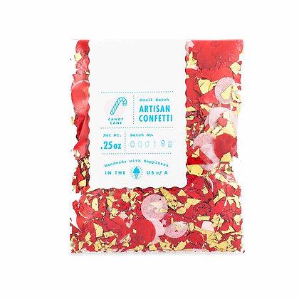 Candy Cane Artisan Confetti
