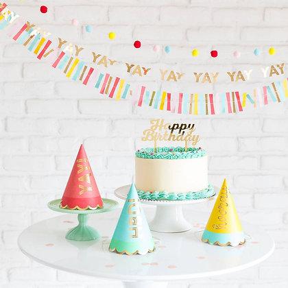 Hip Hip Hooray Party Hats