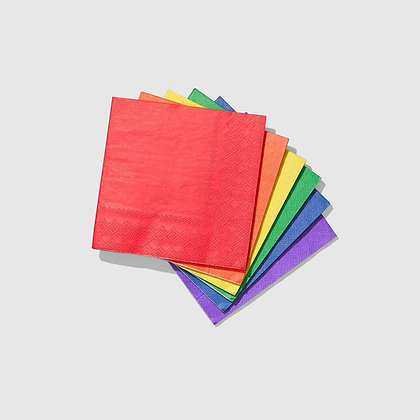 Make It Rainbow Cocktail Napkins