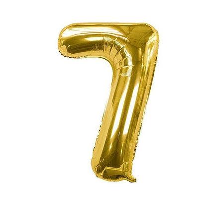 Number Balloon- 7