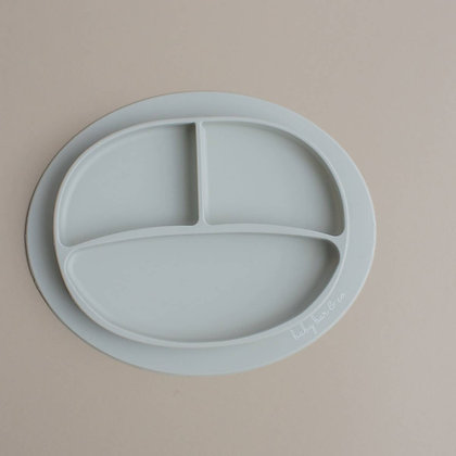 Taupe Silicone Plate