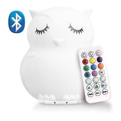 Lumipets® LED Owl Night Light Bluetooth Speaker