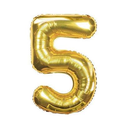 Number Balloon- 5