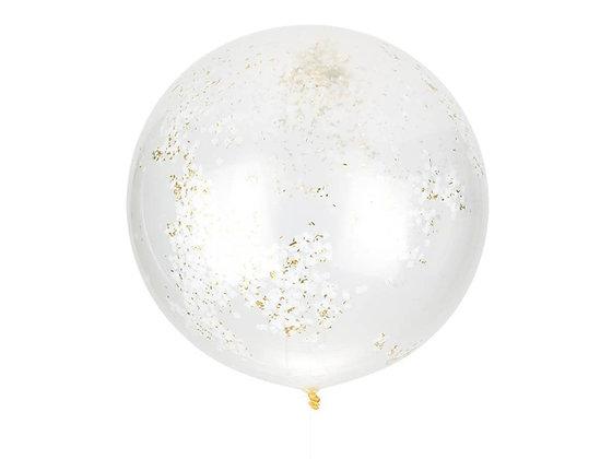Golden Giant Confetti Balloon