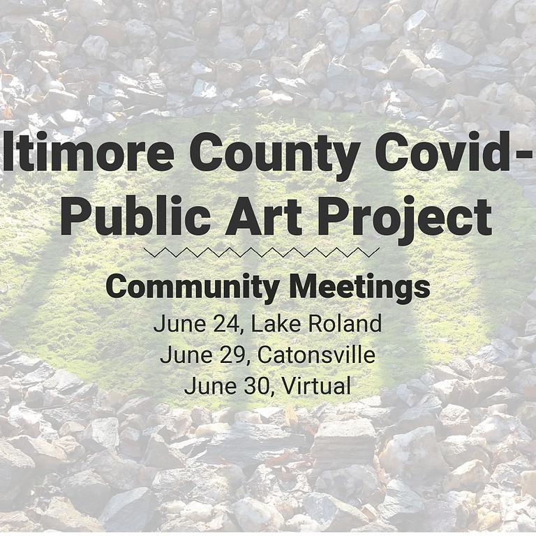 Covid-19 Public Art Memorial Community Meeting