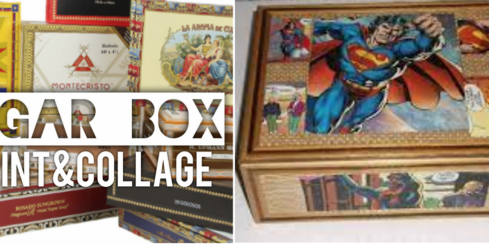 """Thinking """"Inside the Box"""" for Father's Day!  4pm-6pm"""