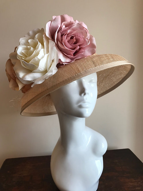 Downton Roses - Hat Couture