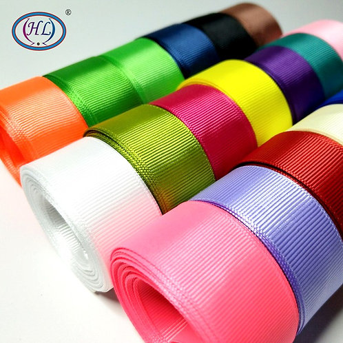 5 Meters 6mm/10mm/15mm/20mm/25mm/40mm Grosgrain Ribbon