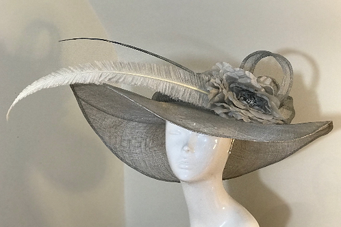 Silver Mist in Melbourne - Hat Couture