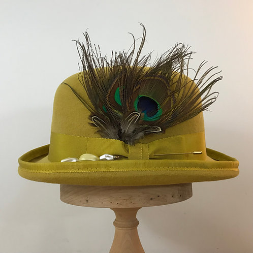 Peacock Strut - Vienna Gold