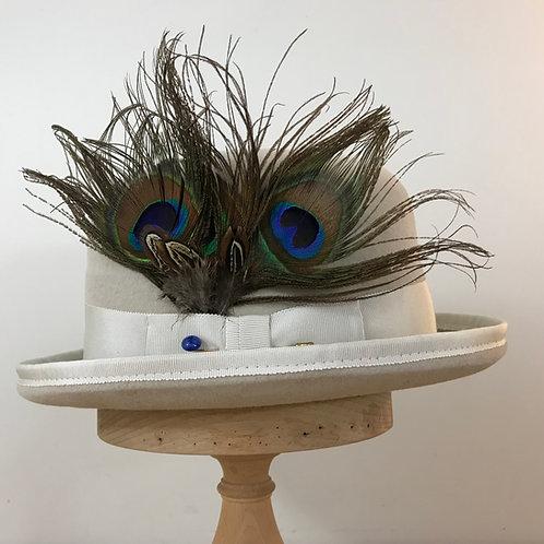 Peacock Strut - Alabaster