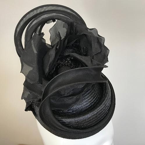 Rose de Soir- Hat Couture