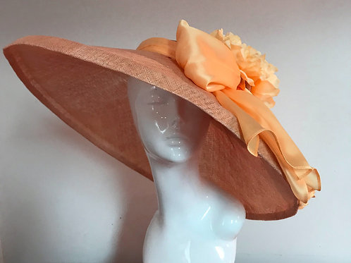 Peach Sundae - Hat Couture