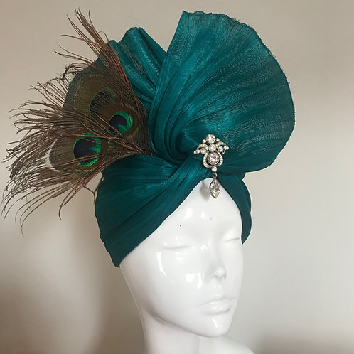 Harnessing Peacocks - Hat Couture