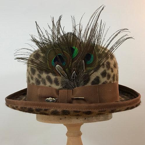 Peacock Strut - Leopard