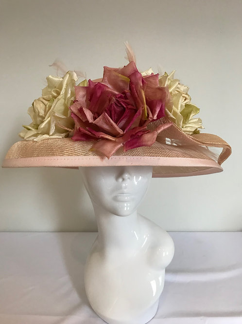 Peaches, Cream & a Grand Piano - Hat Couture
