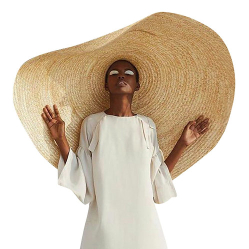 1m Wide Very Large Straw Hat