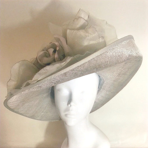 Shades of Grey for Sadie - Hat Couture