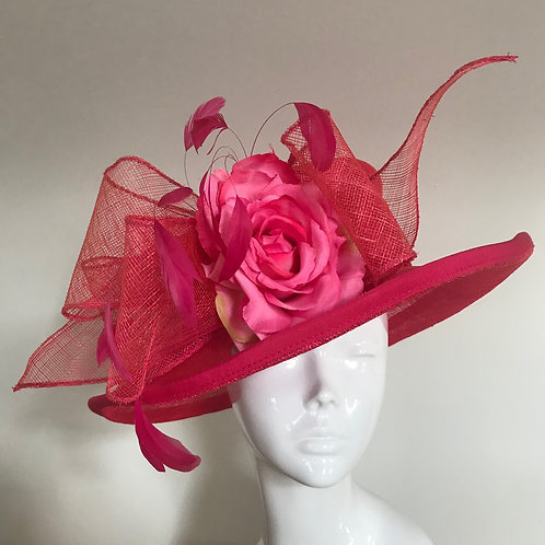 Mags in Magenta - Hat Couture