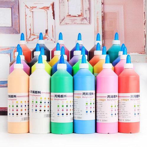 Acrylic Paint 500ML Per Bottle