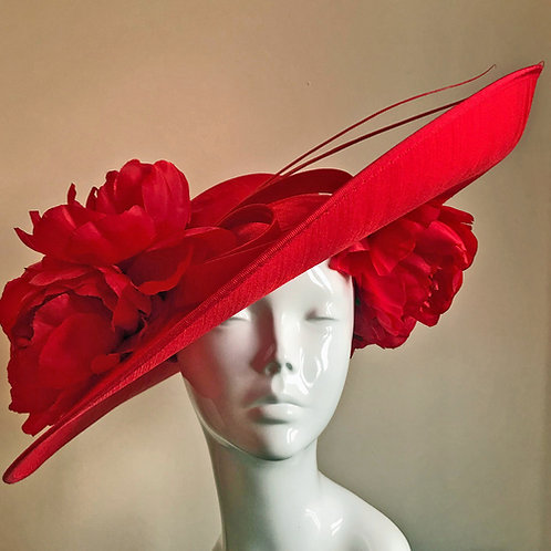 A Passion for Peonies - Hat Couture