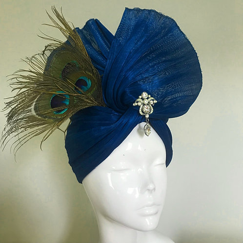 Sapphire's Sunset Boulevard - Hat Couture